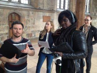 BBC Radio York on York's Guildhall and Shakespeare