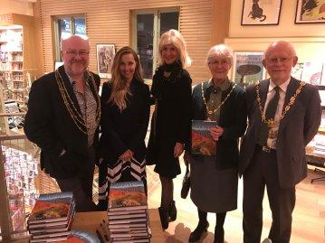 Book launch, Pilgrim Routes of the British Isles, York Waterstones