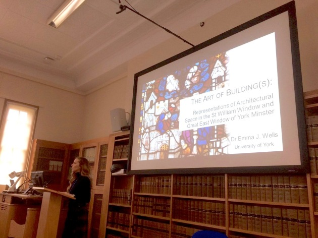 Architectural Representation in the Middle Ages conference, Oxford University