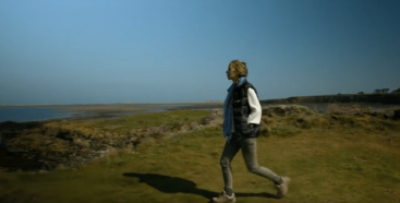 Still from Viral History St Cuthbert's Way Intro