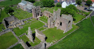 Holy Island/Lindisfarne Priory