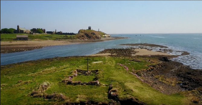 St Cuthbert's Isle to Lindisfarne
