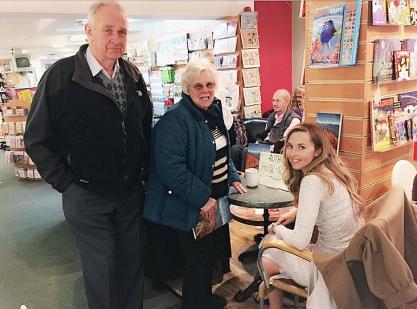 Book signing at White Rose Books