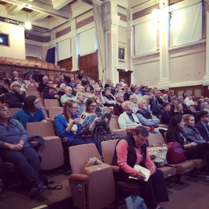 Audience of 'How to Build a Cathedral like York Minster', BBC History Weekend York 2018